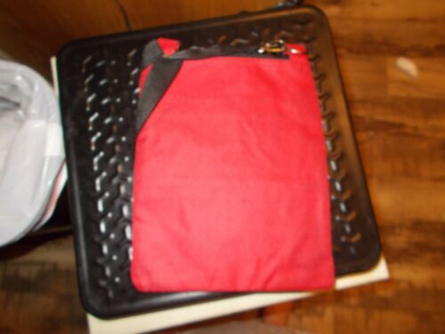RED AND BLACK CROSSOVER PURSES  NEW  GREAT GIFT SET OF 3 RED PLAID