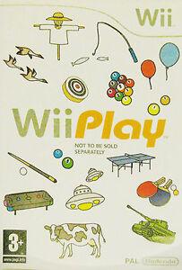 Wii-Nintendo-Wii-Play-eccellente-consegna-super-veloce