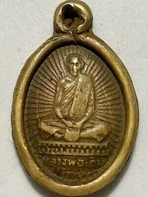 HOON PAYON PHRA LP RARE OLD THAI BUDDHA AMULET PENDANT MAGIC ANCIENT IDOL#3