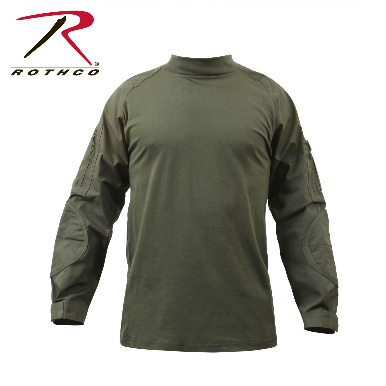 redhco Military Combat Shirt, OD Green (S)