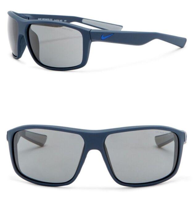 44e34833dc Nike Premier 8.0 Men s Sport Sunglasses EV0792 402 Matte Blue   Gunmetal  Flash