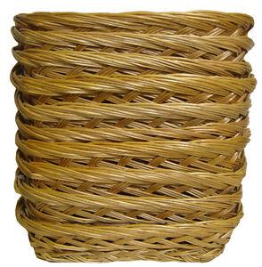 10 x Shallow Wicker Trays - Fruit Gift Basket Hamper, Shop Display - 23x18x5cm
