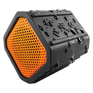 ECOXGEAR-GDI-EGPB100-EcoPebble-Waterproof-Bluetooth-Wireless-Speaker-Orange