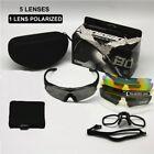ESS Crossbow Ballistic Goggles Tactical Military TR90 Polarized Sunglasses Kit 5