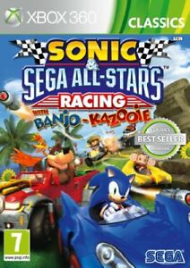 Sonic Y Sega All Stars Juego Carreras Xbox 360 Ebay