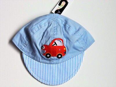 Ospitale Baby Boy Summer Cappello Con Il Colpaccio Cap & Auto Foto-mostra Il Titolo Originale Forma Elegante