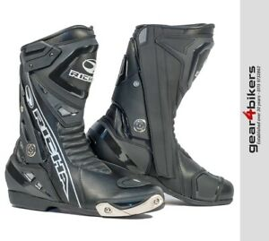 Richa Blade WP Motorcycle Boot Sport Sports Race Style Motorbike Boots Black