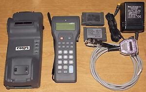 Panasonic Handscanner Scanner ZE-79 ZE-79BM6CY + ZE-79UMHYE + 2 Akku + Kabel