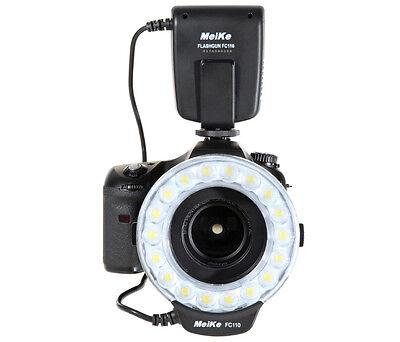 Meike Ringblitz /  Ringleuchte für Canon DSLR Kameras