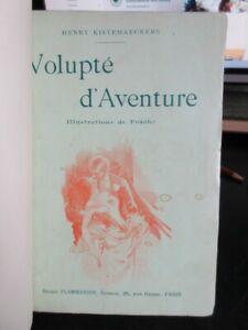 H-Kistemaeckers-Volupte-d-039-Aventure-Ex-japon-demi-maroquin-1901