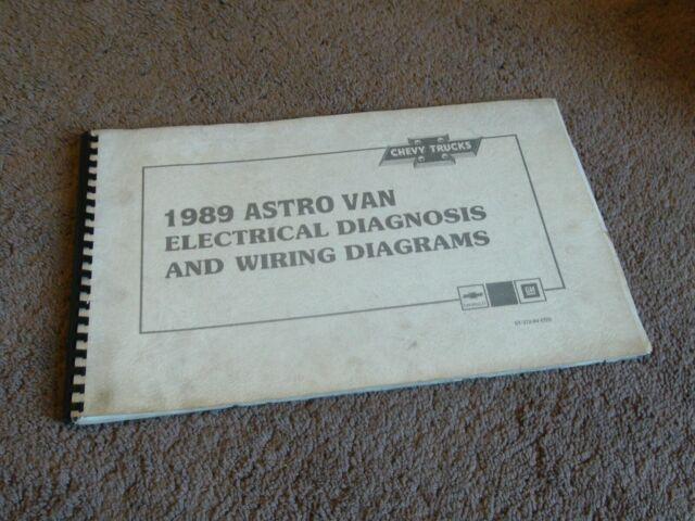 1989 Chevy Astro Van M Minivan Electrical Diagnosis Wiring