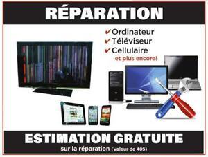 RÉPARATION INFORMATIQUE ET ELECTRONIQUE ESTIMATION GRATUITE City of Montréal Greater Montréal Preview
