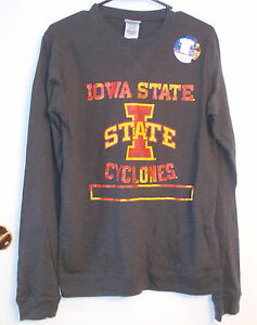 ProEdge-Mens-Iowa-State-Cyclones-Long-Sleeve-Fitted-T-Shirt-Various-Sizes-NWT