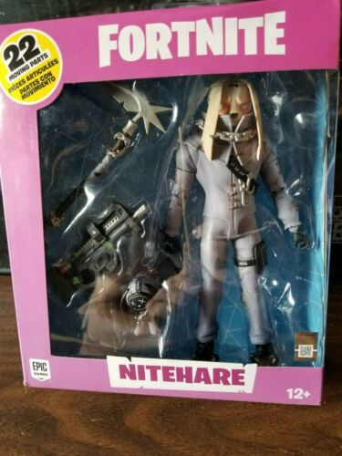 "McFarlane Fortnite Battle Royale Action Figure 7/"" NiteHare Bunny Thug"