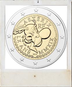 2-EURO-2019-ASTERIX-coincard-Frankrijk-France-ASTERIX