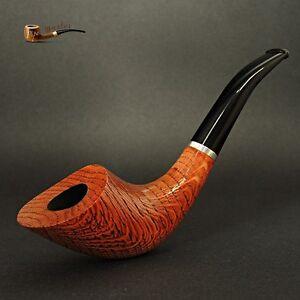 Exclusive-Sandblasted-Wooden-TOBACCO-SMOKING-PIPE-OAK-TREE-no-20-Nut-LARGE