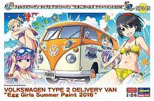 Hasegawa SP345 1/24 Volkswagen Type2 Delivery Van Egg Girls Summer Paint 2016