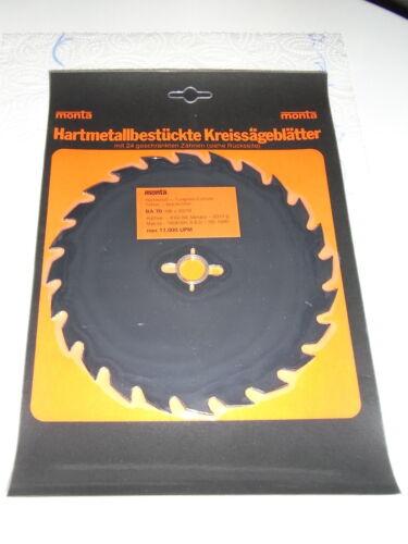Nouveau HM Cercle Lame de scie à bois 180x20//16mm z24 11000 tr//min Lame de scie
