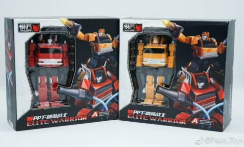 Transformers Scale Mini PPT PA-02 Fire Extinguisher PPT03 Sling Van AKA Grapple