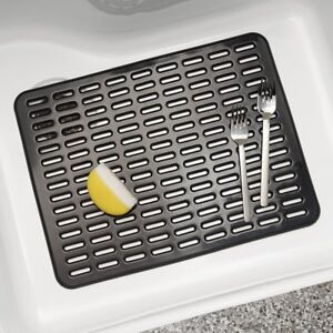 Interdesign Kitchen Sink Protector Mats Rack Syncware