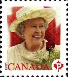 Canada-2298-QUEEN-ELIZABETH-II-VF-NH-Brand-New-2009-Die-Cut-Issue