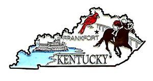 Kentucky 4 Color United States Fridge Magnet