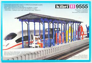 KIBRI-Spur-H0-9555-Bahnsteig-Detmold-Bausatz-OVP-top