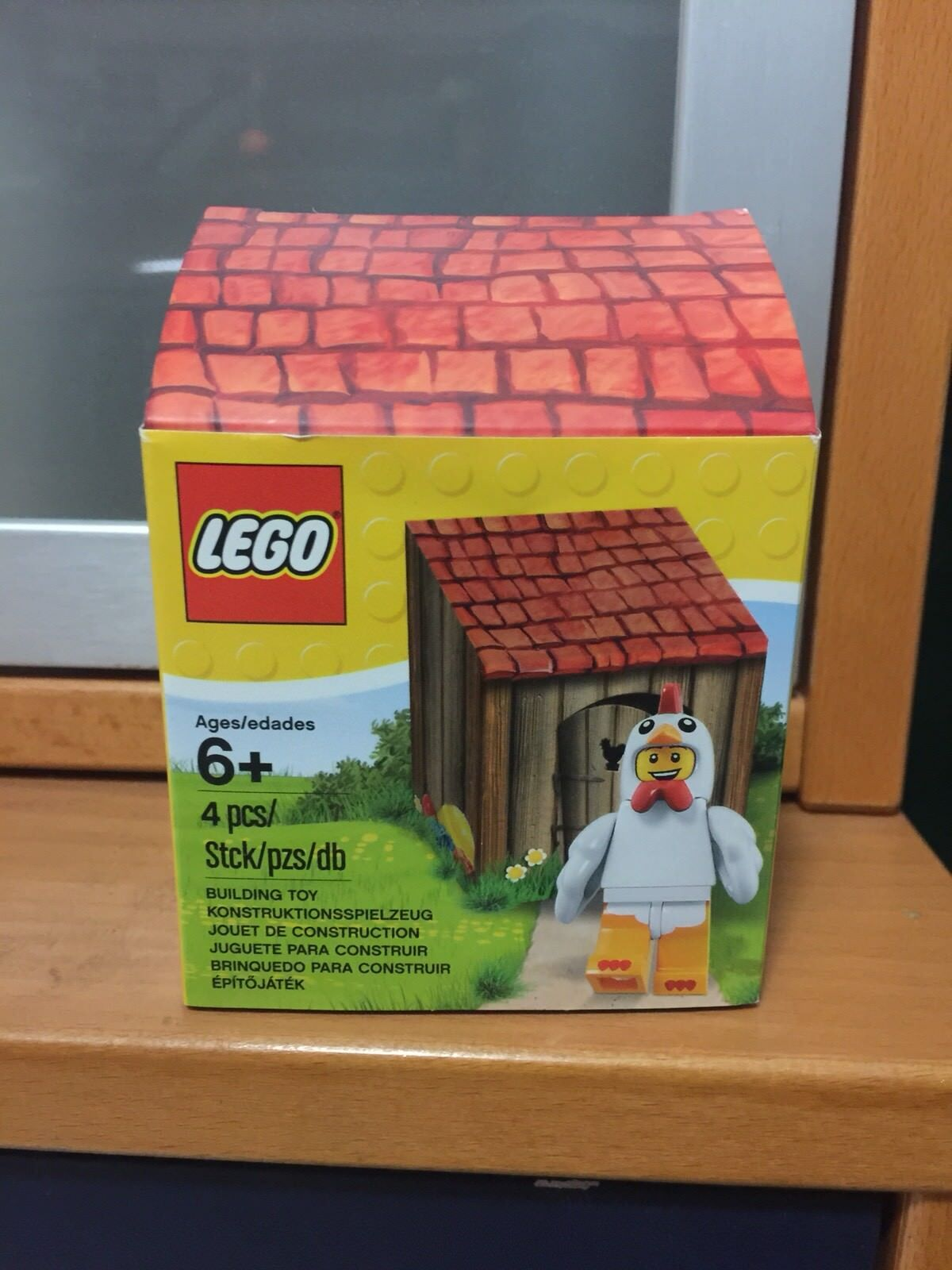 Lote de 12 nuevo traje de pollo Lego tipo Pascua Minifigure Set 5004468 serie 9