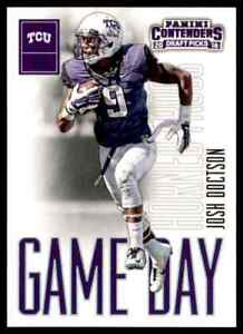 2016-PANINI-CONTENDERS-GAME-DAY-JOSH-DOCTSON-RC-TCU-HORNED-FROGS-7