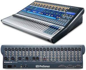Presonus-StudioLive-24-4-2-Mixing-Desk-amp-Flightcase-Please-read-description
