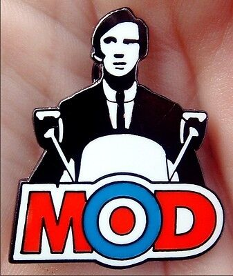 VESPA QUADROPHENIA MODS JIMMY SCOOTER ENAMEL PIN BADGE