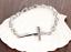 Bracciale-Braccialetto-Acciaio-Rosario-Crocifisso-Croce-Uomo-Donna-Unisex-Catena miniatura 9