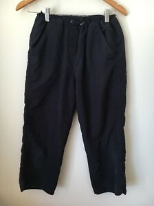 Hosen Damenmode 2019 Neuestes Design Dorothy Perkins Size 8 Polyester Navy Cropped Trousers <t7077
