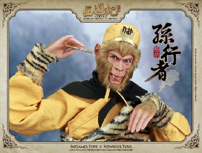 Inflames toys 1 6th Sun Wukong Wukong Wukong Monkey King Collectible Figure Deluxe Edition 642921
