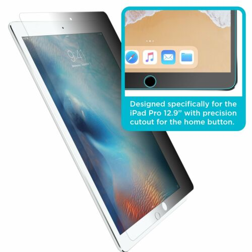 "Privacy Anti Spy Tempered Glass for Apple iPad Pro 12.9/"" 2015 /& 2017 Version"