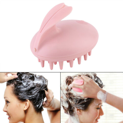 Electric Head Massager Shampoo Massage Comb Bath Brush Scalp Vibrating Rabbit