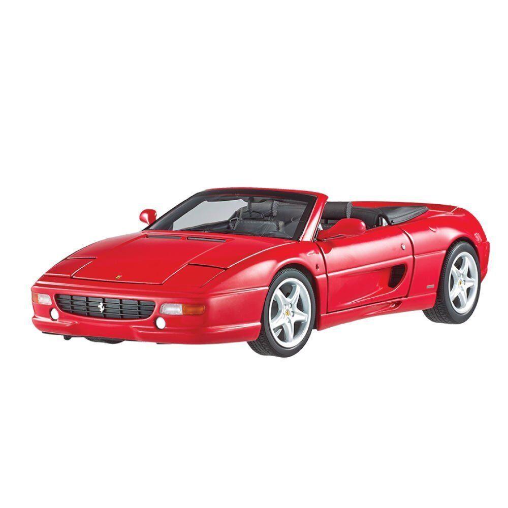 Hot Wheels Elite Ferrari F355 Spider Convertible Rouge 1 18 Modèle Moulé BLY34