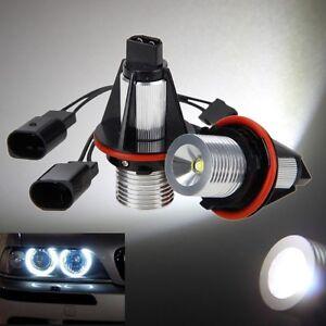 2x LED Angel Eyes Scheinwerfer Standlicht BMW E39 E60 E61 X5 mit Xenon Canbus