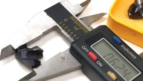 "Kennametal 2646925 Solid Carbide Drill KenTIP Insert .6614/"" 16.80mm KTIP1680HPM"