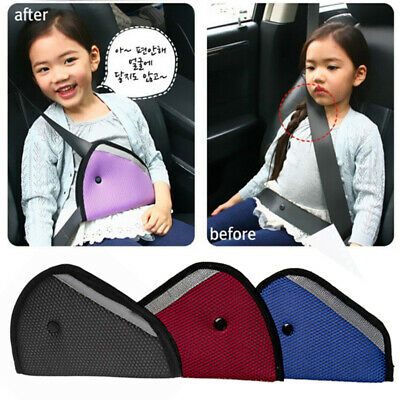 Baby Kids Car Safety Cover Strap Adjuster Pad Harness Children Seat Belt Clip GA
