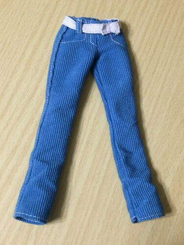 Barbie Doll My Scene Shopping Spree Kenzie Outfit Belted Blue Cord Pants Rare