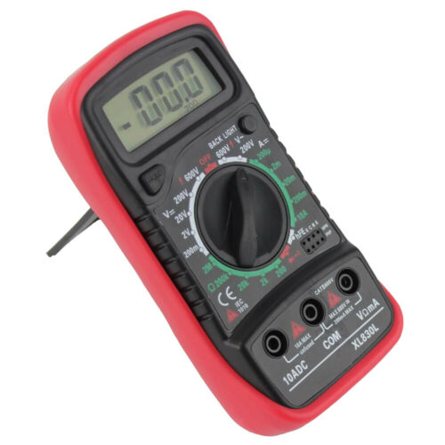 compteur d/'amplitude Volt Amp avec diode et essai de Multimètre numérique