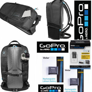 GoPro-BLACK-BACKPACK-AWOPB-001-2-AABAT-001-BATTERIES-CHARGER-FOR-GOPRO-HERO6