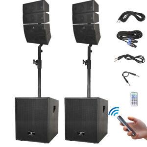 Proreck 12 Inch 3000 Watt Bluetooth Speaker System Line