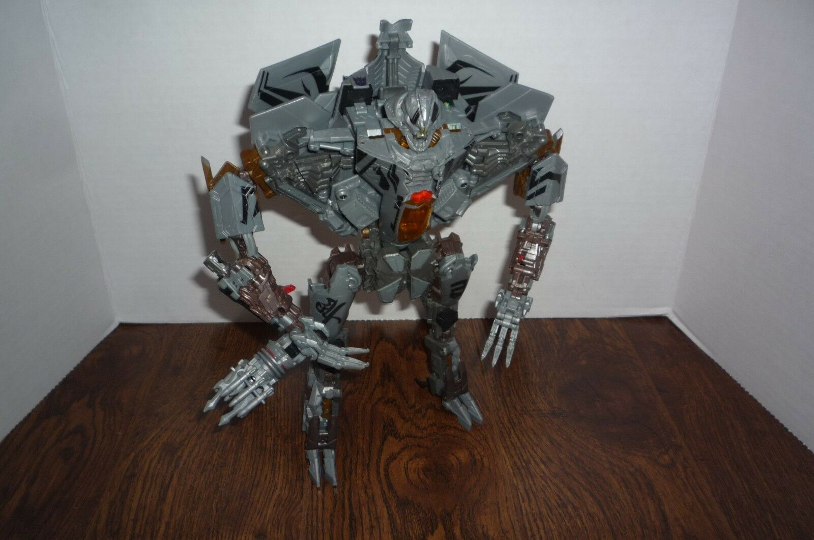 TRANSFORMERS MOVIE STARCREAM HUNT FOR DECEPTICONS LEADER CLASS LOOSE 2009