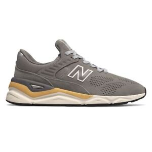 Details about New Balance X 90 Marblehead MSX90PNB Men's NB Suede Mesh Grey Yellow X90