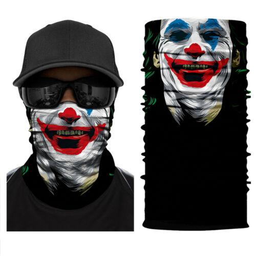 BANDANA Face Neck  Tube Shield Fish Headwear Motorcycle Skull Head UV Tube Scarf