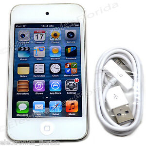 apple ipod touch 4th generation white or black 8 16 32 64 gb ebay. Black Bedroom Furniture Sets. Home Design Ideas