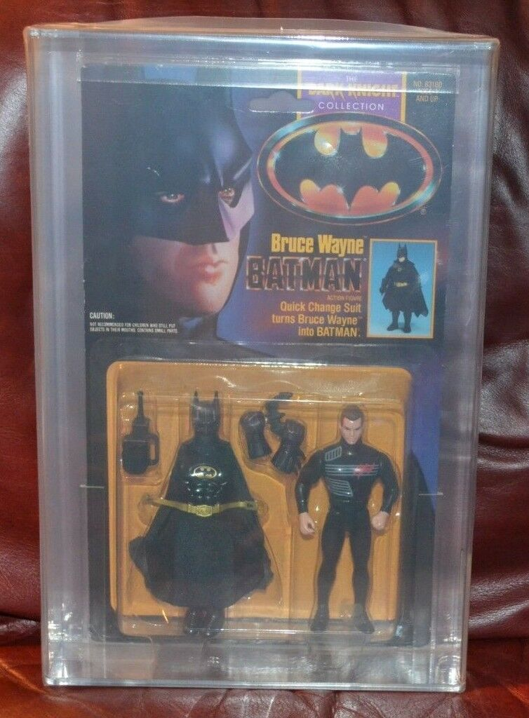 Batman-Bruce Wayne Dark Knight AFA Kenner RARE VINTAGE TOY
