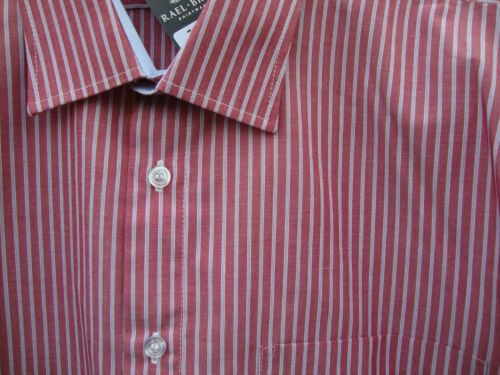 RED Stripe RAELBROOK Camicia 2XL 3XL 4XL 5XL
